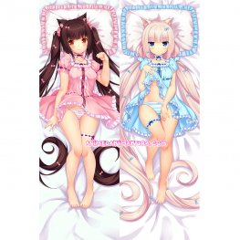 Nekopara Dakimakura Chocola Vanilla Body Pillow Case