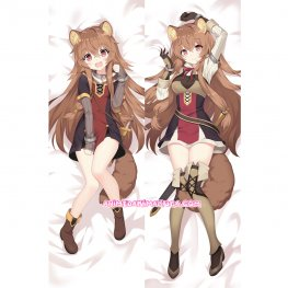 The Rising of the Shield Hero Dakimakura Raphtalia Body Pillow Case 04
