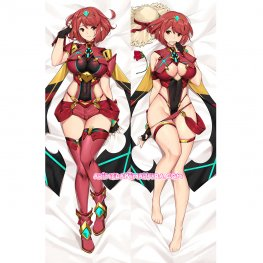Xenoblade 2 Dakimakura Pyra Body Pillow Case 02