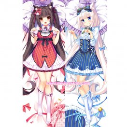 Nekopara Dakimakura Chocola Vanilla Body Pillow Case 07