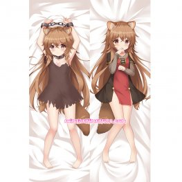 The Rising of the Shield Hero Dakimakura Raphtalia Body Pillow Case 07