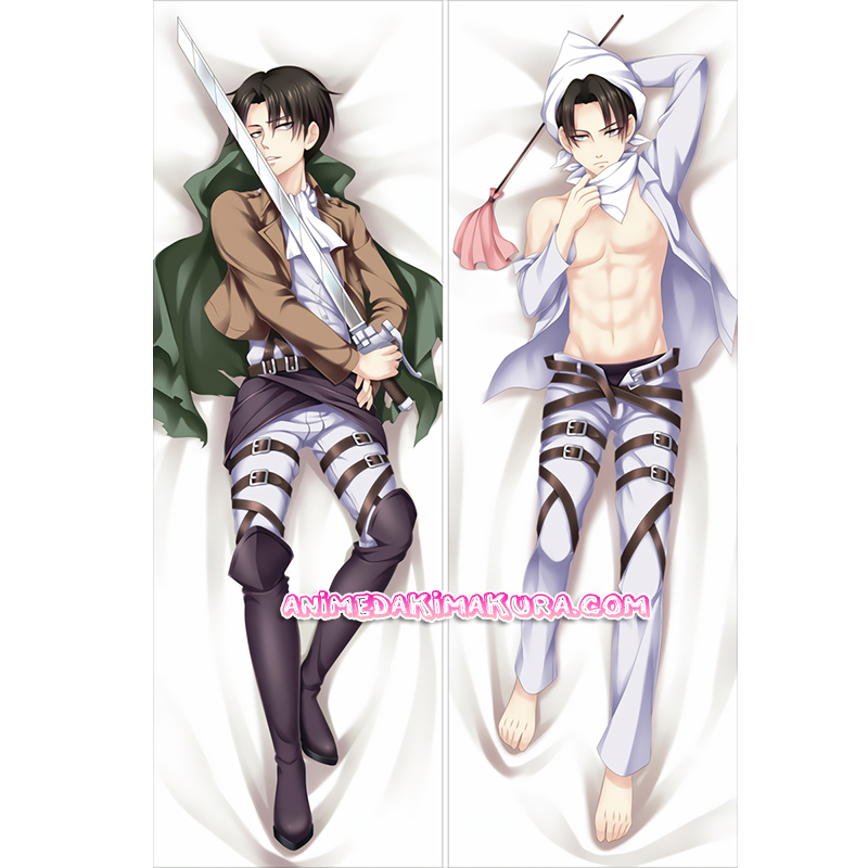 Attack on Titan Dakimakura Levi Body Pillow Case