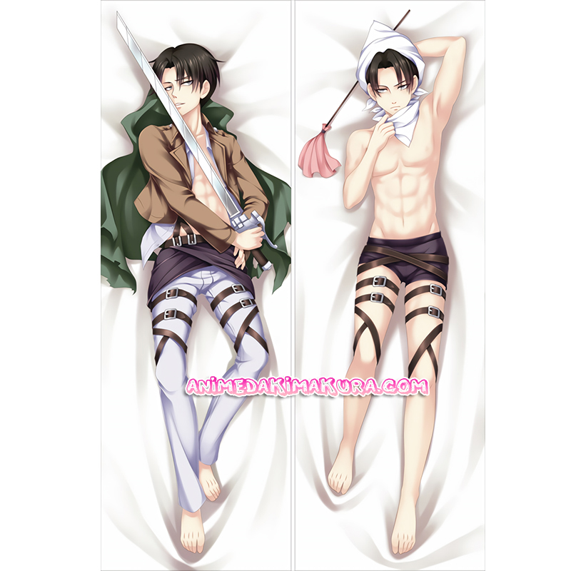 Attack on Titan Dakimakura Levi Body Pillow Case 02