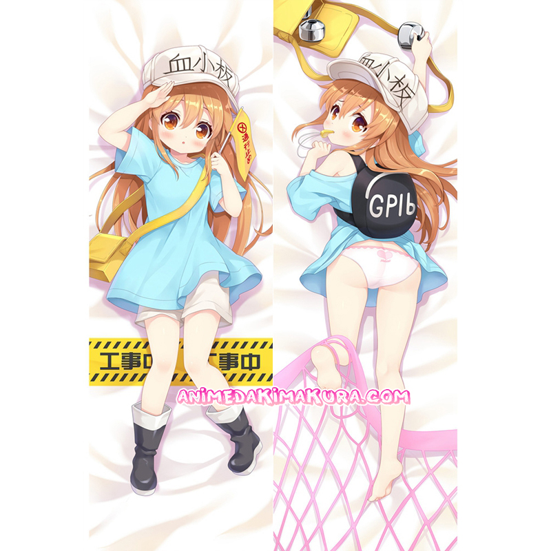 Cells at Work! Hataraku Saibou Dakimakura Kesshouban Body Pillow Case