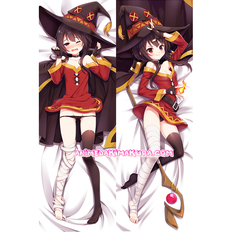 KonoSuba Dakimakura Megumin Body Pillow Case 03