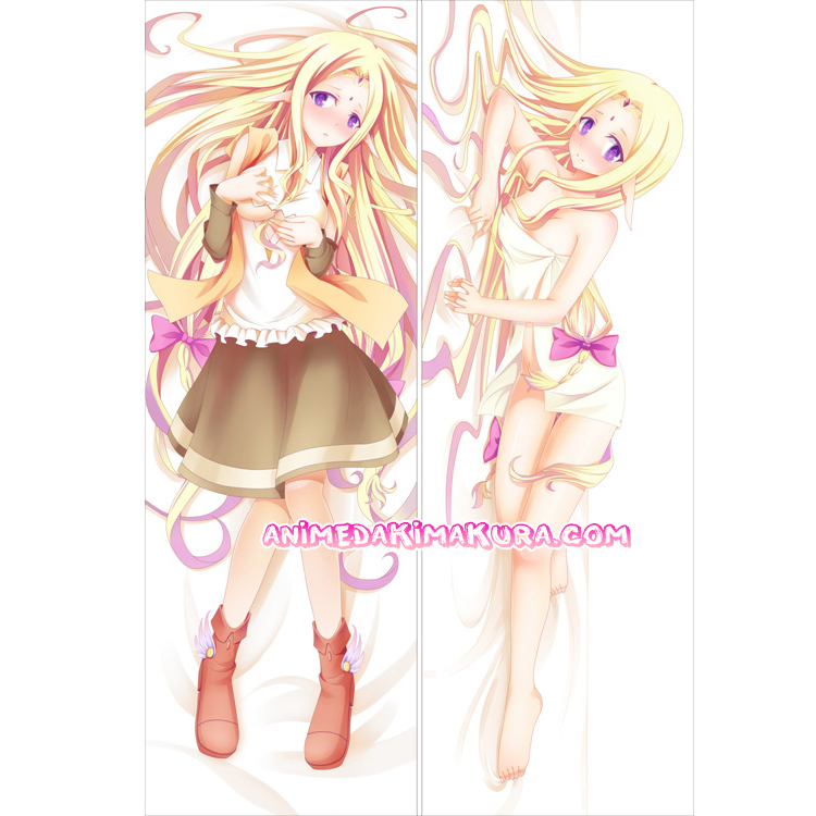 NO GAME NO LIFE Dakimakura Feel Nilvalen Body Pillow Case