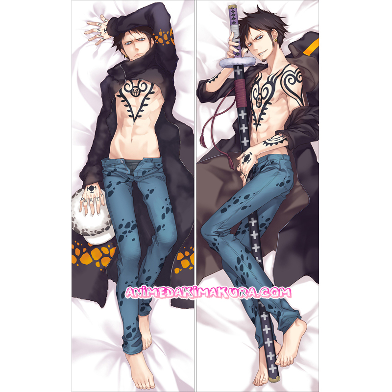 One Piece Dakimakura Trafalgar Law Body Pillow Case
