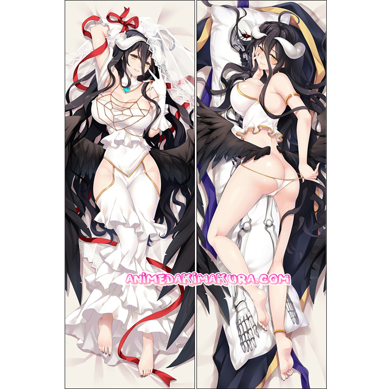 OVERLORD Dakimakura Albedo Body Pillow Case 03