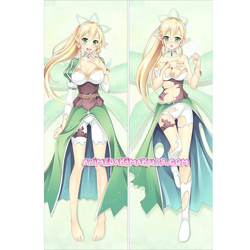 Sword Art Online Dakimakura Leafa Suguha Kirigaya Body Pillow Case