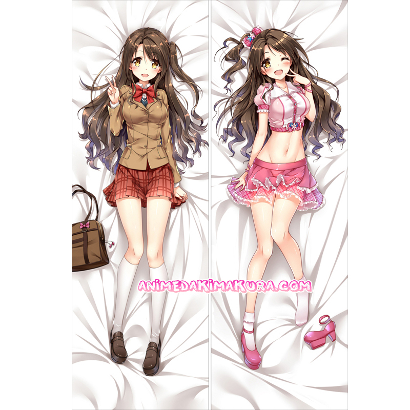 The Idolmaster Cinderella Girls Dakimakura Uzuki Shimamura Body Pillow Case