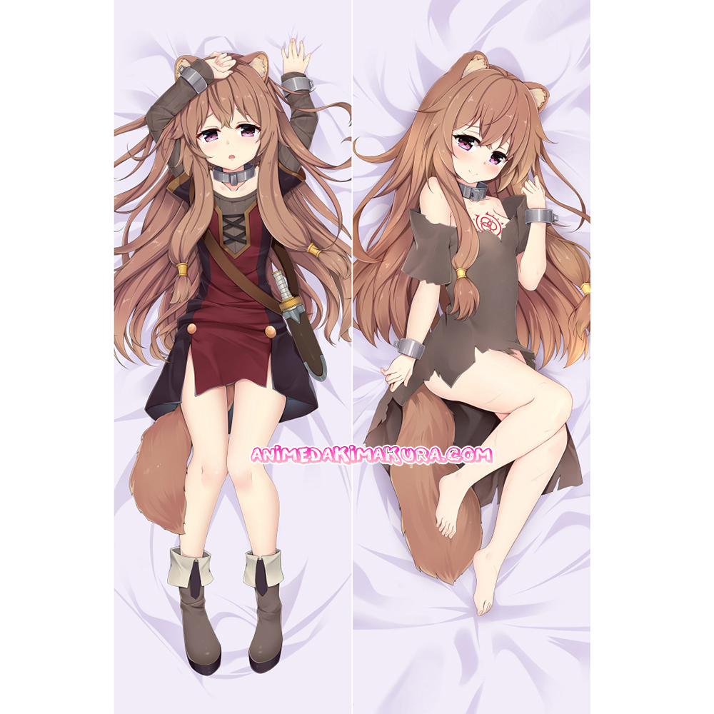 The Rising of the Shield Hero Dakimakura Raphtalia Body Pillow Case