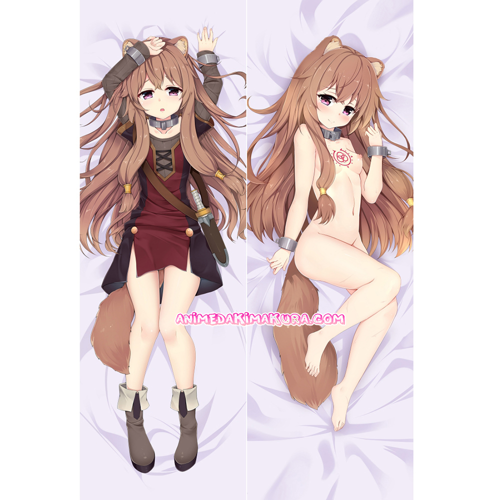 The Rising of the Shield Hero Dakimakura Raphtalia Body Pillow Case 02